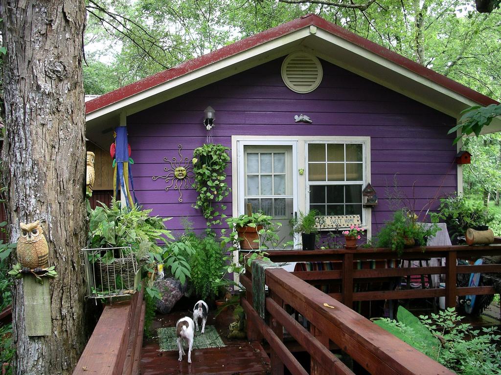 Сиреневый дом
